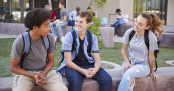 Middle school students become fast friends with Second Step activities