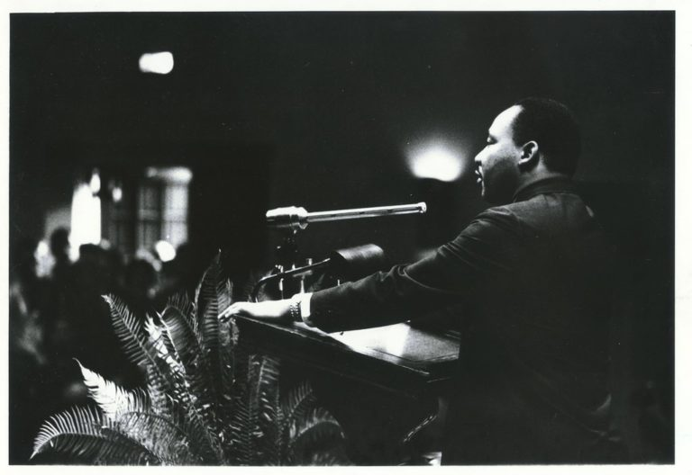 """""""Dr. Martin Luther King Jr., 13 November 1964"""" by Duke University Archives is licensed under CC BY-NC-SA 2.0"""