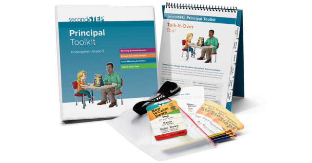 second step, principal toolkit, K-5, SEL, back to school, back to school basics