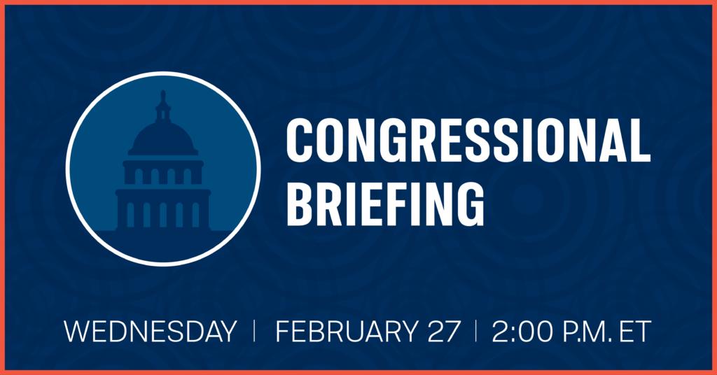 teacher preparedness, cfc congressional briefing