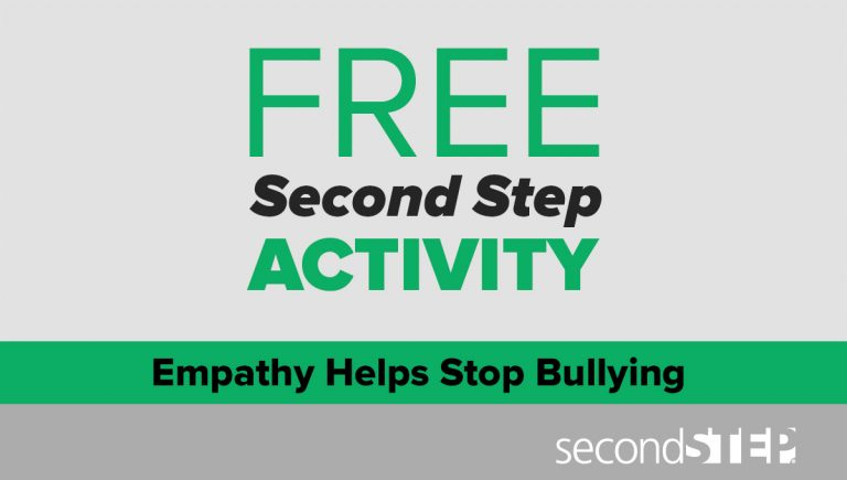 bullying prevention, elementary, empathy, classroom activity