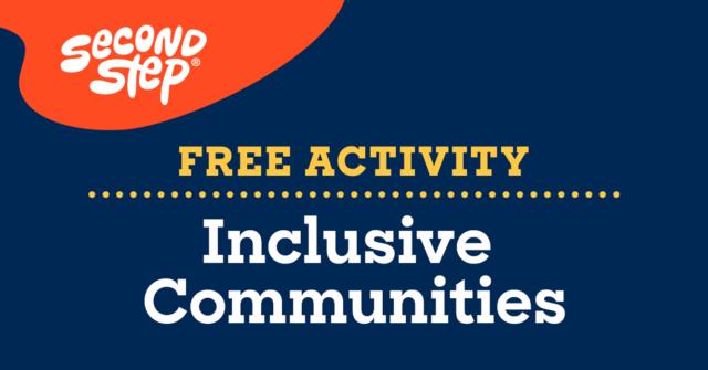 Free Activity—Inclusive Communities