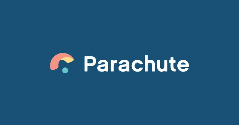 Parachute App Logo, parenting challenges