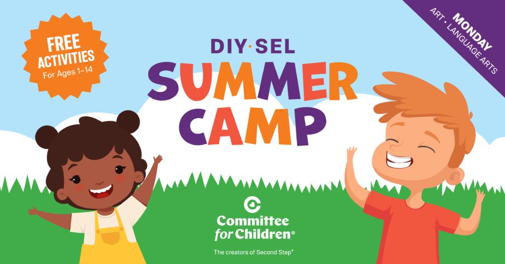Week 3 Monday's Summer Camp - Art - Language Arts