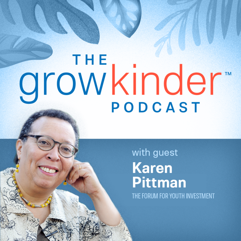 karen pittman podcast promo, youth development