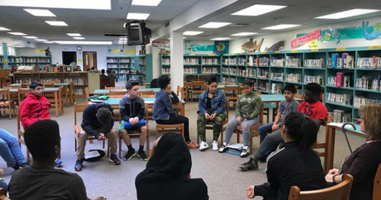 student group discussion