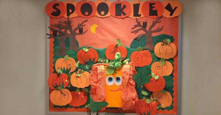 Spookly the pumpkin