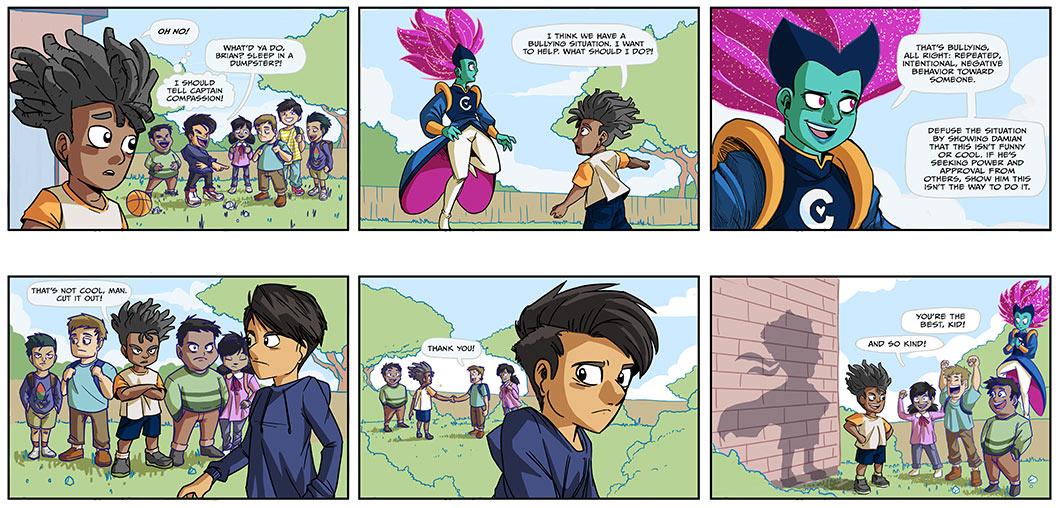 captain compassion 2018 week 1 comic