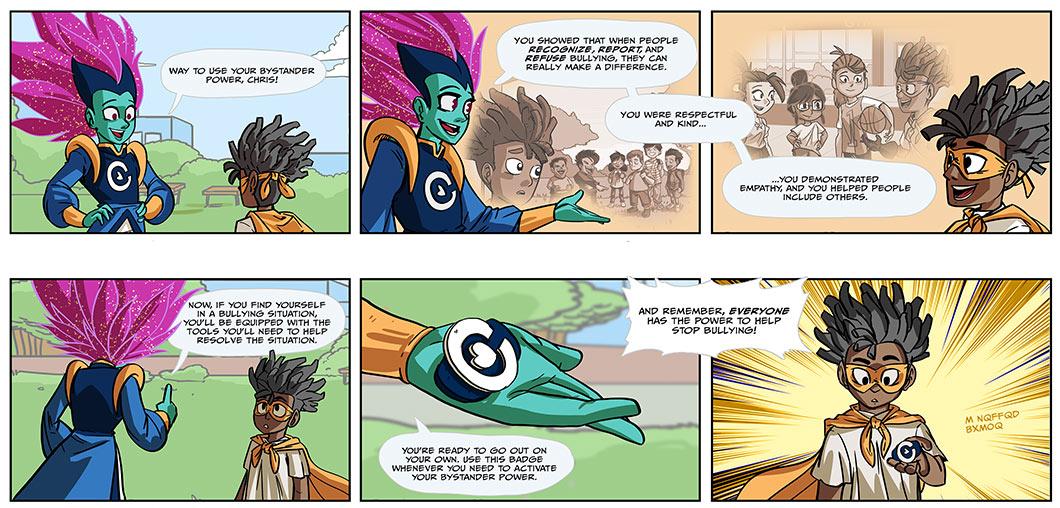 captain compassion 2018 week 5 comic