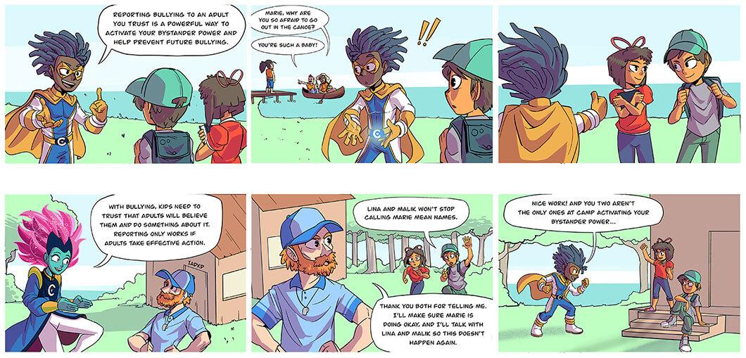 captain compassion week 3 comic preview