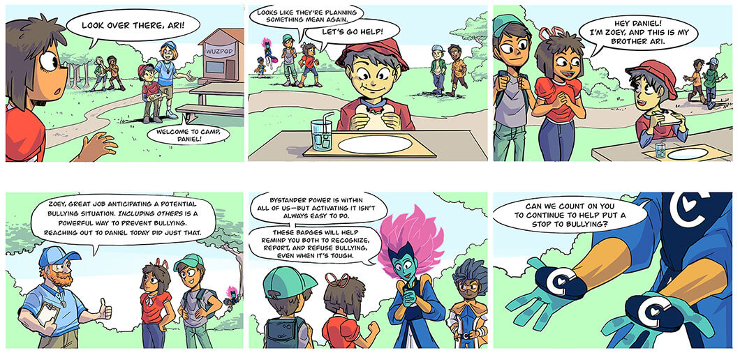 captain compassion week 5 comic preview