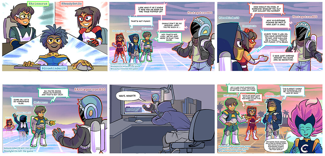 captain compassion week 5 comic